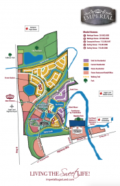 Imperial Model Home Map - Home Builders in Sugar Land
